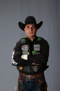 Robson Palermo. OKC studio shoot. Built Ford Tough series PBR. Photo by Andy Watson